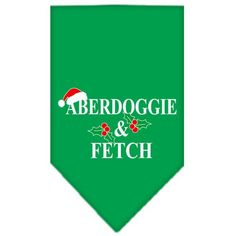 Mirage - Aberdoggie & Fetch Christmas Dog Bandana
