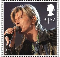 A Reality Tour, 2004 1 pound 52 pence stamp Royal Mail Stamps, Uk Stamps, Royal Mail Postage, David Bowie, Famous Pictures, Postage Stamp Art, Penny Black, Stamp Collecting, The Incredibles