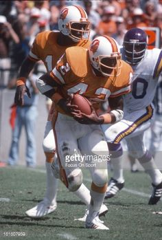1225c45627b News Photo   Ricky Bell of the Tampa Bay Buccaneers carries... Ricky Bell