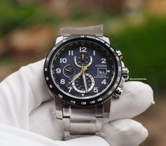Citizen - Radio-Controlled AT8124-91L