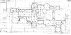 Biltmore House- Ground Floor- Floor plan