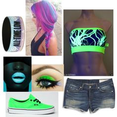 Rave by kayla-kn on Polyvore featuring polyvore fashion style rag & bone Capelli New York Vans