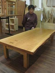 2009年12月28日 みんなの作品【テーブル・机】 大阪の木工教室arbre(アルブル)