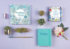 The Living Expressions Spring Collection includes the Inspire: Psalms (978-1-4964-1987-3), the Inspire Bible (978-1-4964-1374-1), and All Things New: A Creative Coloring and Journaling 365 Day Devotional (978-1-4964-1999-6).