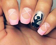 Ballerina nail art....