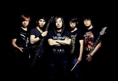 REMNANTS OF THE FALLEN, south korean, band photography