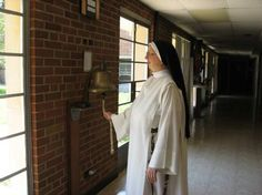 Dominican Nuns of the Perpetual Rosary Sister Ringing Rising Bell