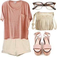 ❤️ Peach Orange, Girl Fashion, Polyvore, Image, Girls, Women's Work Fashion, Toddler Girls, Daughters, Maids