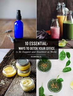 10 Ways to Detox Your Office