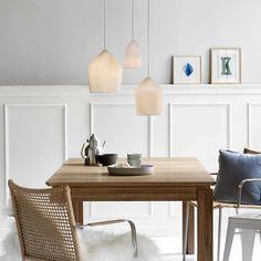 DFTP Reykjavik 12 Porcelain Ceiling Pendant Light - White from Lighting Direct. Ceiling Pendant, Pendant Lamp, Pendant Lighting, Ceiling Lights, Chandelier, Corrugated Sheets, White Pendant Light, Direct Lighting, Danish Design