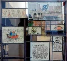 The new Billy Ireland Cartoon Library and Museum located on the Ohio State University campus will open Saturday November 16, 2013. The collection includes more than 300,000 original strips, 67,000 serials (including comic books) 3,000 linear feet of manuscript materials, plus 2.5 million comic strip clippings and newspaper pages — comprising the world's largest collection of cartoon art and artifacts.