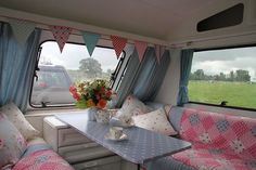 Shabby Chic Style 4 Berth Elddis touring Caravan must see