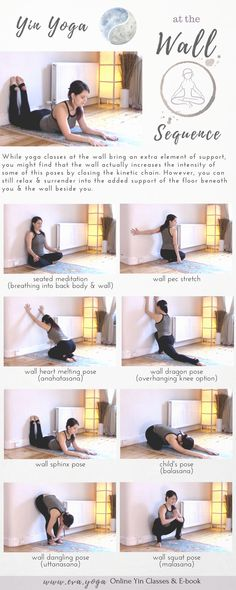 Yoga Wall Sequence