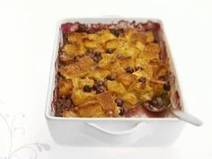 Baked French Toast with Blueberrieshttp://www.foodnetwork.com/recipes/giada-de-laurentiis/baked-french-toast-with-blueberries-recipe.html