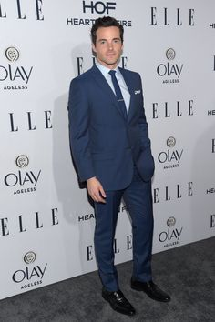 Pin for Later: There Were So Many Powerful Women at Elle's Annual Television Bash Pictured: Ian Harding