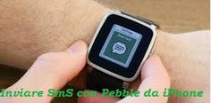 UNIVERSO NOKIA: Come Inviare SmS con Pebble da iPhone