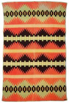 native american trade blanket