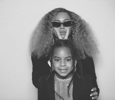 Beyonce Knowles and Blue Ivy Carter hit up her creative director's wedding and looked fabulous — see what they wore Beyonce 2013, Beyonce And Jay Z, Beyonce Style, Blue Ivy Carter, Afro, King B, Ivy Look, Online Photo Gallery, Beyonce Knowles