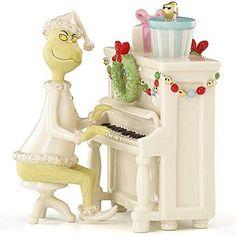 "Lenox Grinch's Christmas Melody 2014 Dr. Seuss 6"" Fine China Figurine #Lenox"