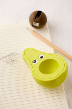 Avocado Eraser + Sharpener Set