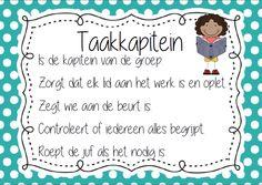 werken in groepjes/ taakverdeling School Organisation, Organization, Primary School, Classroom, Teacher, School Organization, Getting Organized, Class Room, Professor