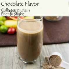 Fish Collagen Protein Energy Shake (Chocolate Flavor)