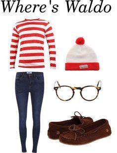 Where's Waldo   costume   woman