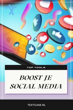 Wil jij jouw social media een boost geven? Dan zijn social media management tools super handig. Leer welke tools jou kunnen helpen, zodat jij productiever wordt, efficiënter werkt en beter met je doelgroep connect. #socialmedia #boost #succes #facebook #instagram #pinterest