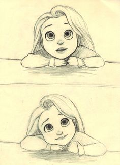 Little Rapunzel (c) Glen Keane & Disney                              …