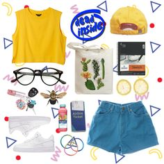 A fashion look from September 2015 by tinymooncreature featuring Monki, Wrangler, NIKE and Mangosteen