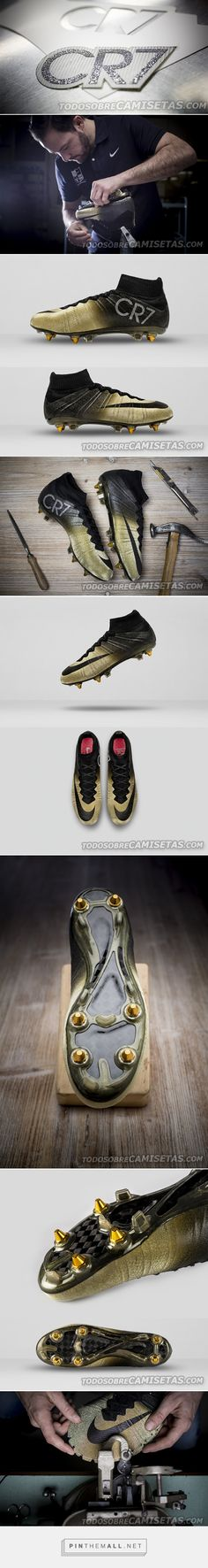 differently 11fb7 d4a78 Nike Mercurial Superfly Gold - CR7