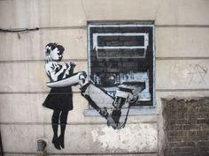Banksys wunderbare Welt der Graffitis
