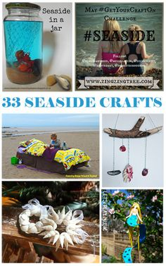 Best To The Beach Images  Day Care Pranks Toddler Activities More Seaside Inspired Craft Fun Sea Crafts Rock Crafts Nature Crafts  Crafts