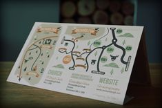 Wedding Invitation by Sam White, via Behance