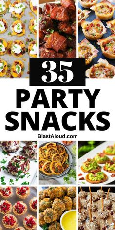 Be the party favorite with these yummy and easy party snack ideas. Check out some of the yummiest bite sized party finger foods to bring to your next party as appetizers and snacks! Finger Food Appetizers, Yummy Appetizers, Appetizers For Party, Appetizer Recipes, Tapas, Snacks Für Party, Christmas Appetizers, Food Platters, Appetisers
