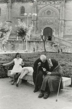 """kvetchlandia"" — Henri Cartier-Bresson   Salamanca, Spain  ..."