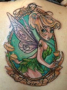 tinker bell tattoo