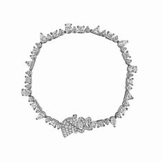 Archi Dior Cocotte diamond bracelet