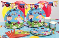 Ben and Holly's Little Kingdom Ultimate Party Kits