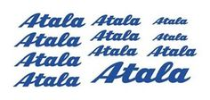 ATALA (11) BIKE FRAME vinyl stickers/decals (Road bikes)