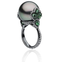 Autore Pearls. Orchid ring...♡