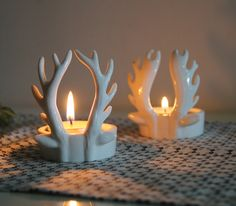 북유럽감성의 멋진 캔들홀더 /캔들홀더/장식/뿔/소품/선물/티라이트/Candle…