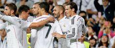 Ronaldo, Benzema y Bale, imparables