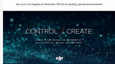 DJI sends invites for November 15 event Inspire 2 likely to debut