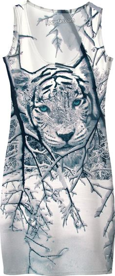 Snow Tiger Dress