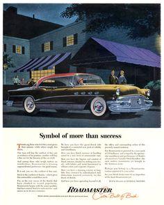 Buick Roadmaster GMC Symbol Of Success - Mad Men Art: The 1891-1970 Vintage Advertisement Art Collection
