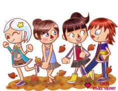 ACNL Group Commission for Hylee by ladypixelheart.deviantart.com on @deviantART