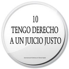 10. tengo derecho a un juicio justo