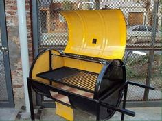 Barrel Barbeque Smoker