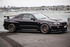 11 Black Nissan Skyline GTR you need to see Motors Pictures Japanese Domestic Market, Nissan Skyline Gt, Nissan Gtr Skyline, Godzilla, Nissan Gtr R34, Tuner Cars, Jdm Cars, Volkswagen, Japan Cars